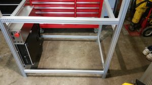 Liteplacer Enclosure Frame With Controls